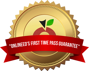 Passing your state exam is GUARANTEED by OnlineEd